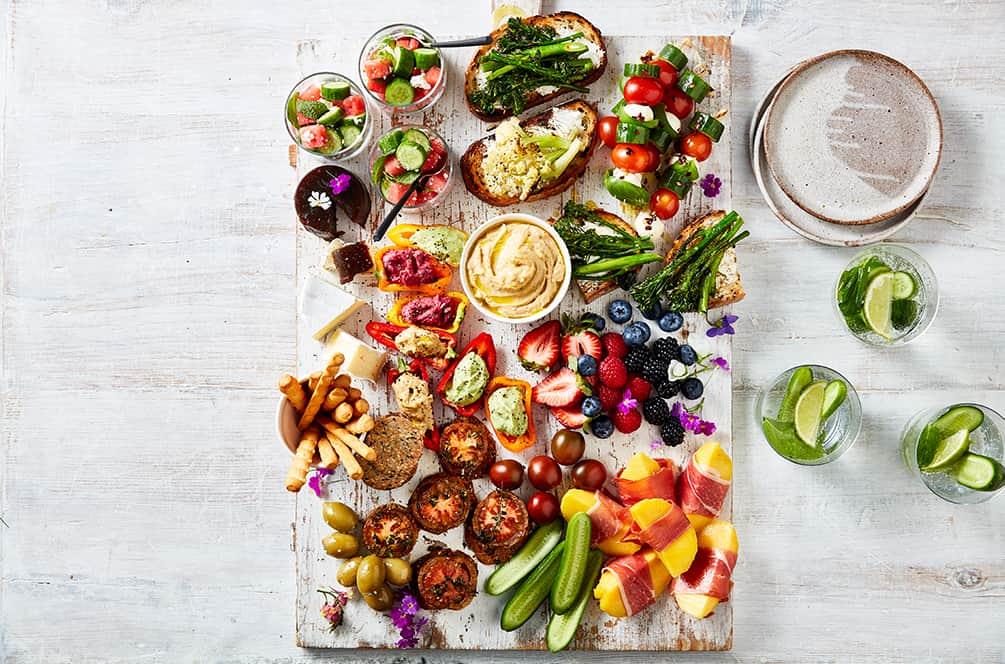 Summer Shared Platter
