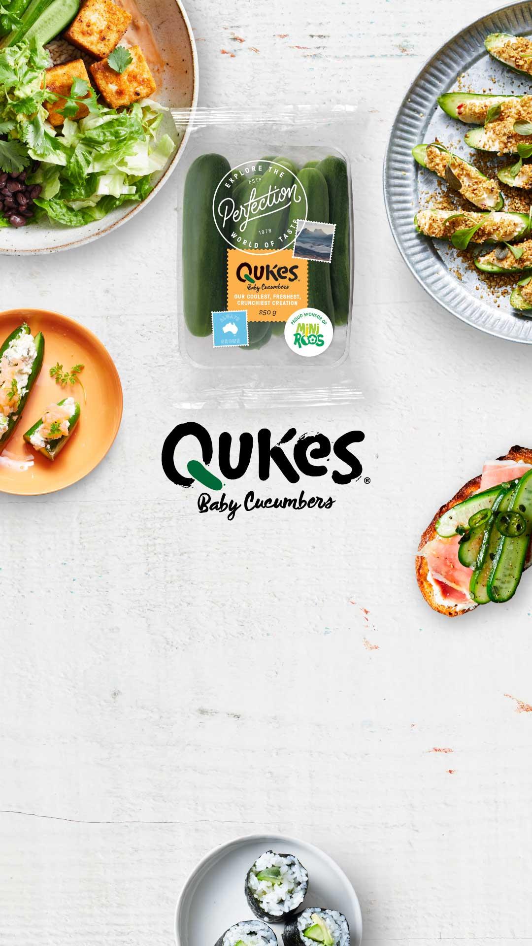 Qukes Snacking banner