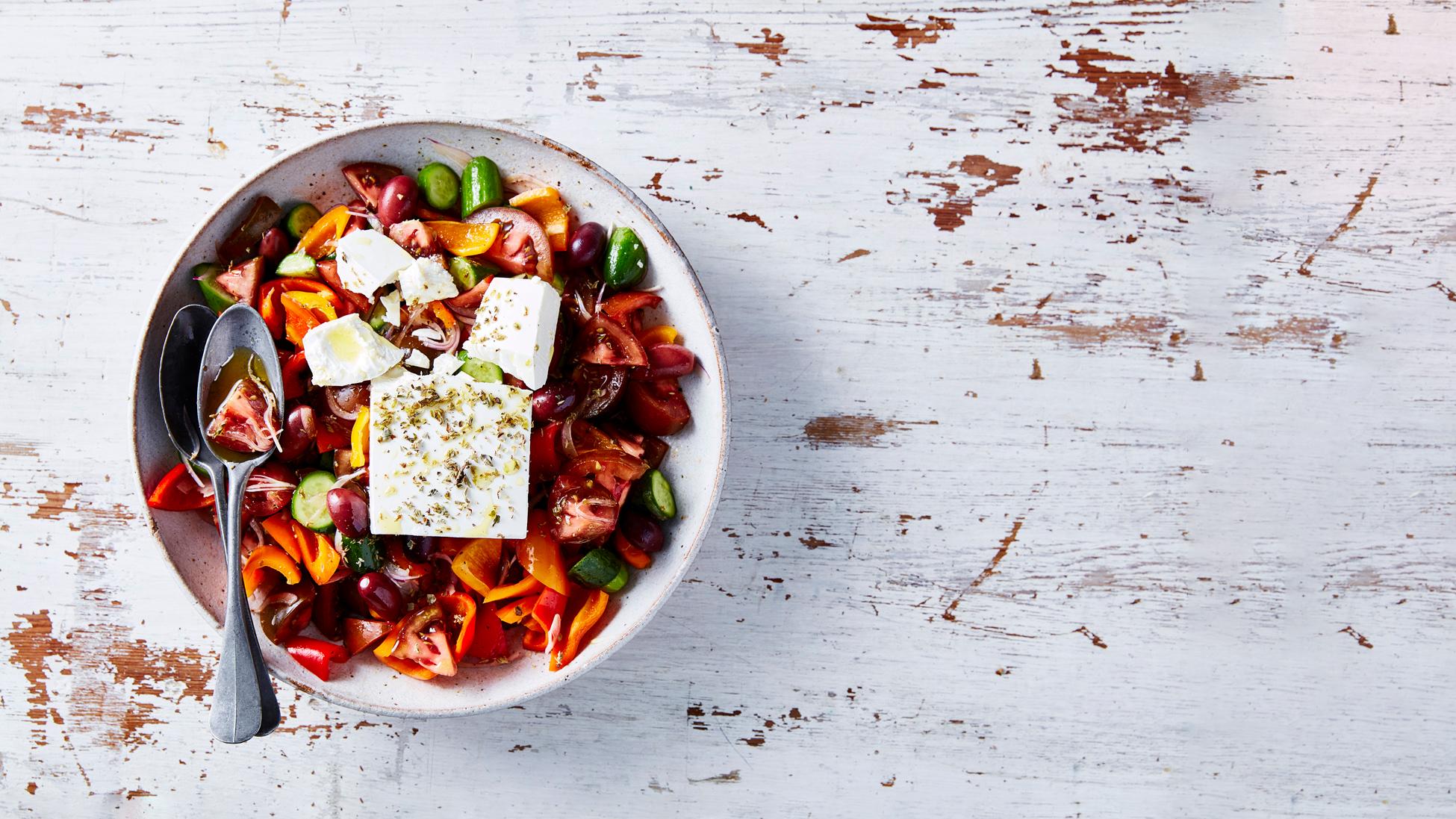 Try Our Kumato Greek Salad Recipe